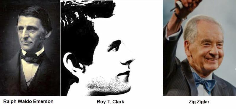 Emerson, Clark, Ziglar