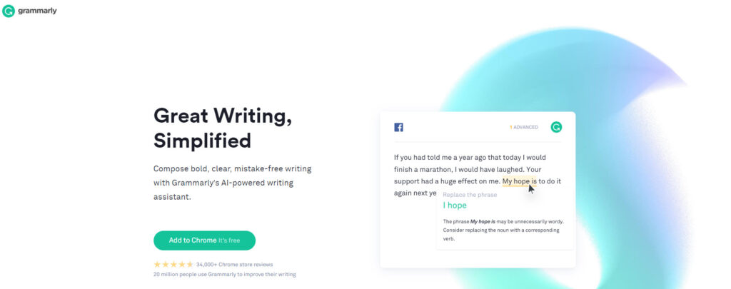 Grammarly Grammar Checker
